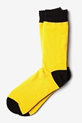 Yellow Irvine Sock Photo (0)