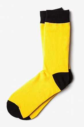 Yellow Irvine Sock