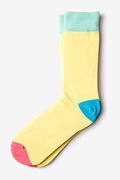 Yellow Tustin Sock