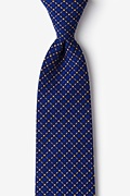 Yellow Cotton Ashland Extra Long Tie
