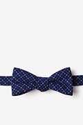 Yellow Cotton Ashland Skinny Bow Tie