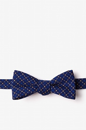 Ashland Yellow Skinny Bow Tie