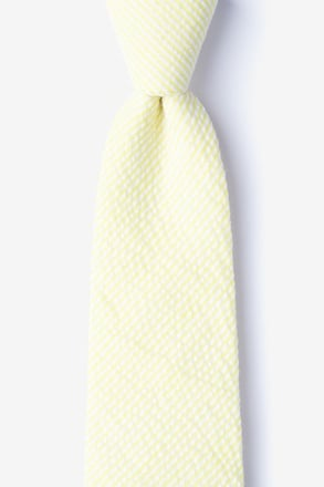 _Cheviot Yellow Tie_