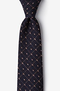 Yellow Cotton Gresham Tie