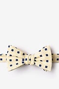 Jamaica Yellow Self-Tie Bow Tie Photo (0)
