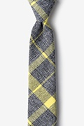 Yellow Cotton Kirkland Skinny Tie