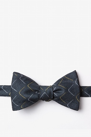 Mesa Yellow Self-Tie Bow Tie