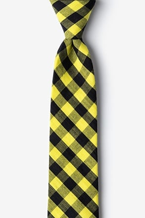 _Pasco Yellow Skinny Tie_