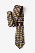 Roseburg Yellow Extra Long Tie