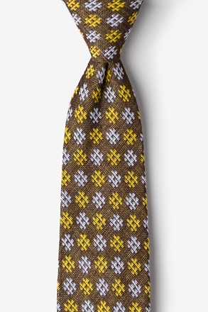 _Roseburg Yellow Extra Long Tie_