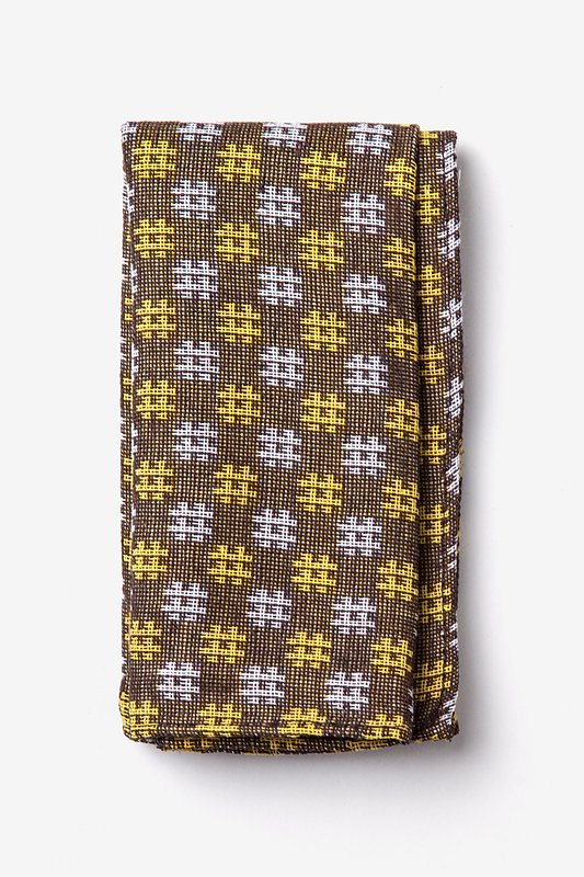 Roseburg Yellow Pocket Square Photo (0)