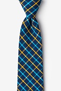 Yellow Cotton Sahuarita Extra Long Tie