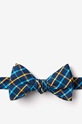 Yellow Cotton Sahuarita Self-Tie Bow Tie