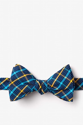 Sahuarita Yellow Self-Tie Bow Tie