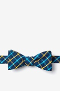 Yellow Cotton Sahuarita Skinny Bow Tie