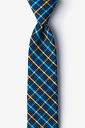 Yellow Cotton Sahuarita Skinny Tie