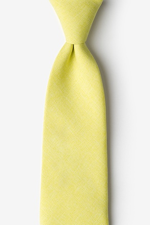 Tioga Yellow Extra Long Tie
