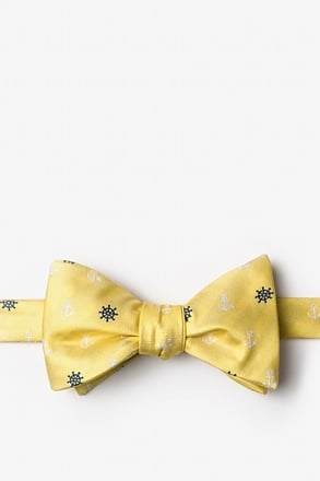 _Anchors & Ships Wheels Self-Tie Bow Tie_
