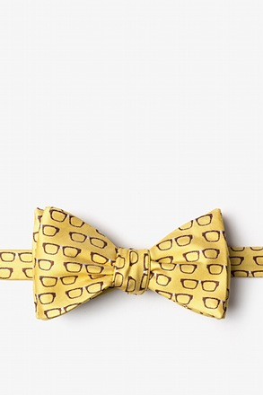 Four Eyes Self-Tie Bow Tie