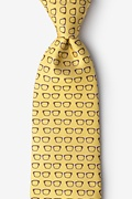 Four Eyes Yellow Tie Photo (0)