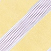 Yellow Microfiber Jefferson Stripe Extra Long Tie