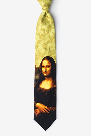Mona Lisa Extra Long Tie