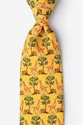 Giraffe Yellow Tie Photo (0)