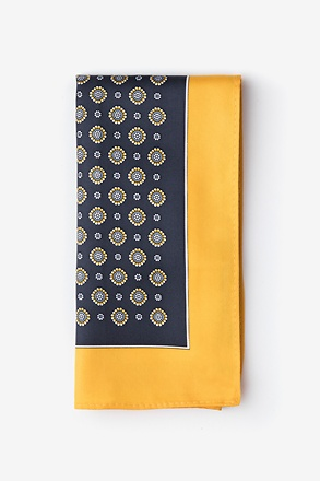 Joe Yellow Pocket Square