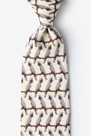 Palm Cockatoo Tie