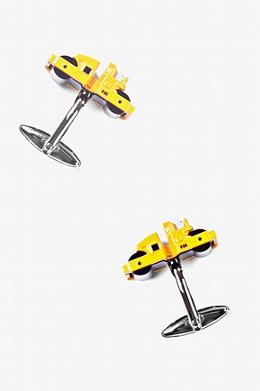 Roller Trucks Yellow Cufflinks