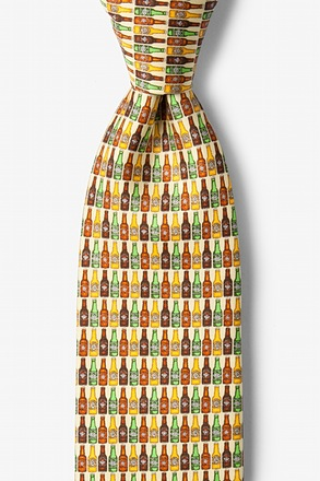 _99 Bottles Yellow Tie_