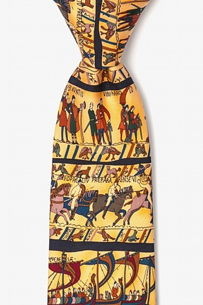 Bayeux Tapestry Yellow Tie