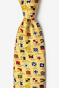 Boating Signals Tie
