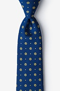Yellow Silk Bomeo Tie