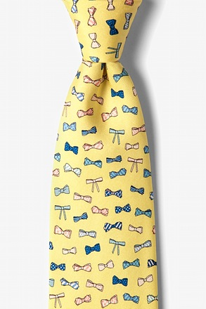 _Bow Ties Yellow Tie_