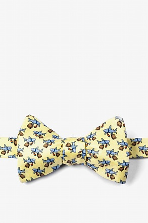 Dangerous Business Self-Tie Bow Tie
