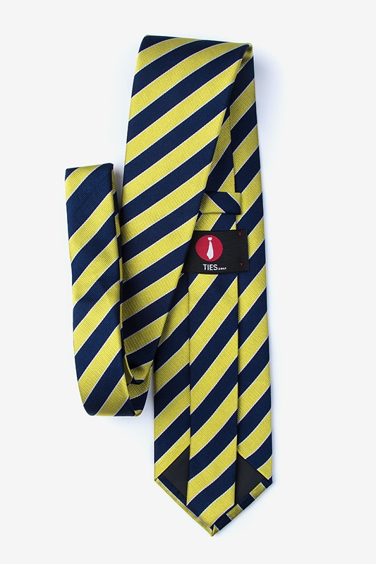 Fane Yellow Extra Long Tie Photo (1)