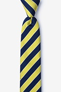 Fane Yellow Skinny Tie Photo (0)