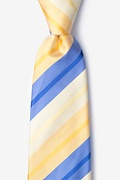 Yellow Silk Finn Tie