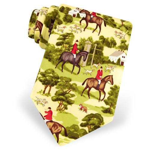 Fox Hunting Tie by Alynn Novelty