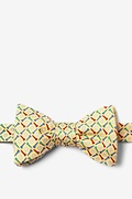 Golf Balls & Tees Yellow Self-Tie Bow Tie Photo (0)