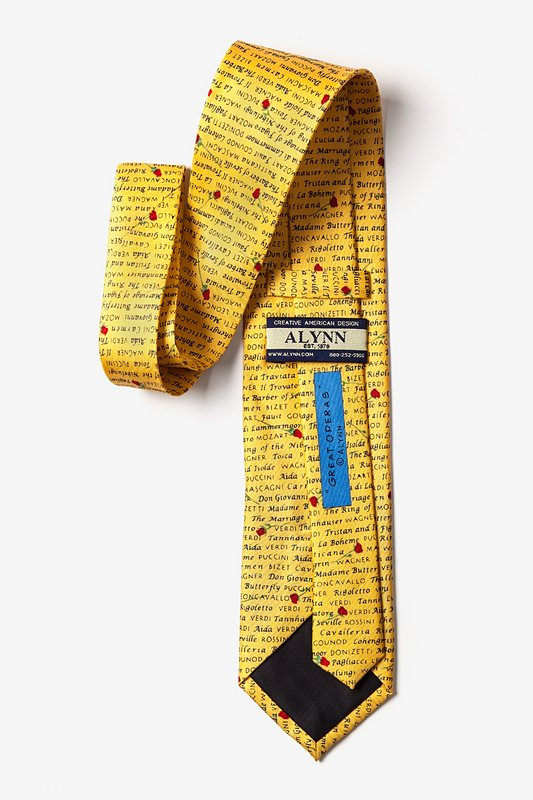 Great Operas Yellow Tie Photo (2)