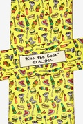 Kiss The Cook Tie by Alynn Novelty