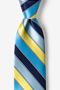 Yellow Silk Know the Ropes Extra Long Tie