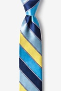 Yellow Silk Know the Ropes Skinny Tie