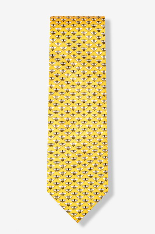 Micro Bees Tie by Alynn Novelty