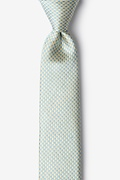 Yellow Silk Mill Skinny Tie