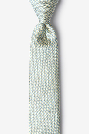 _Mill Yellow Skinny Tie_