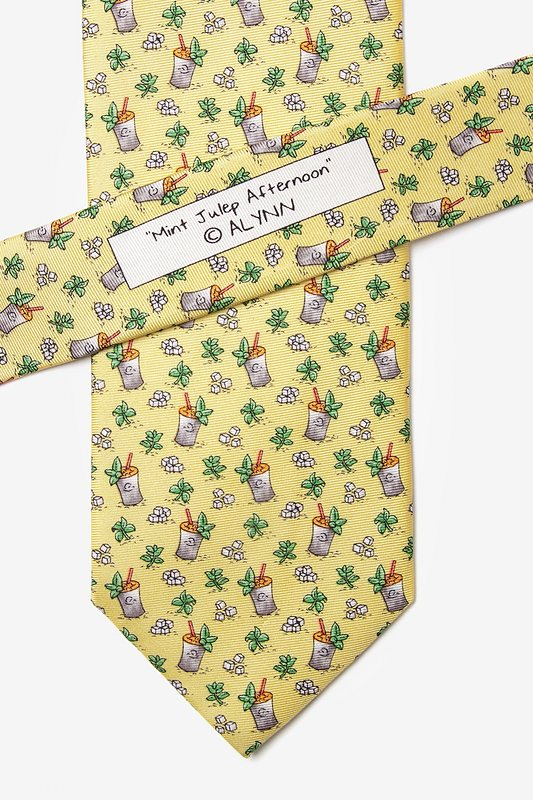 Mint Julep Afternoon Tie