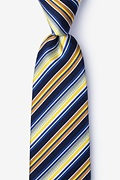 Yellow Silk Moy Tie